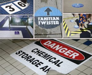 variety of safety signage