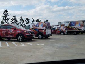 custom commercial fleet vehicle graphics